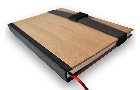 LEATHER NOTEBOOK A5 WITH PAPER REFILL