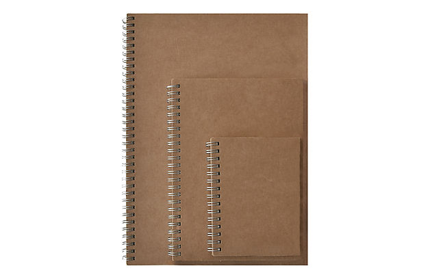 NOTEBOOK A6-A5-A4 WITH DOTED PAPER
