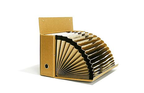 ACCORDION FILE BOX  A4 - A5